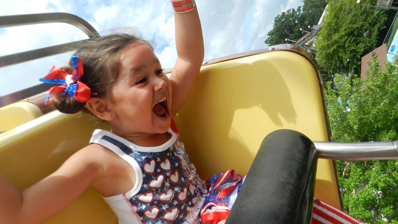 Children enjoying Waldameer Park