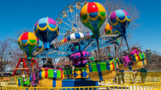 Balloon Race kiddie ride at Waldameer Amusement Park