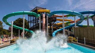 Bermuda Triangle attraction at Waldameer water park
