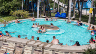 Heated Relaxing Pool at Waldameer Water Park