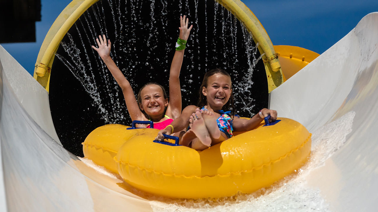 Liquid Lightning attraction at Waldameer Water Park