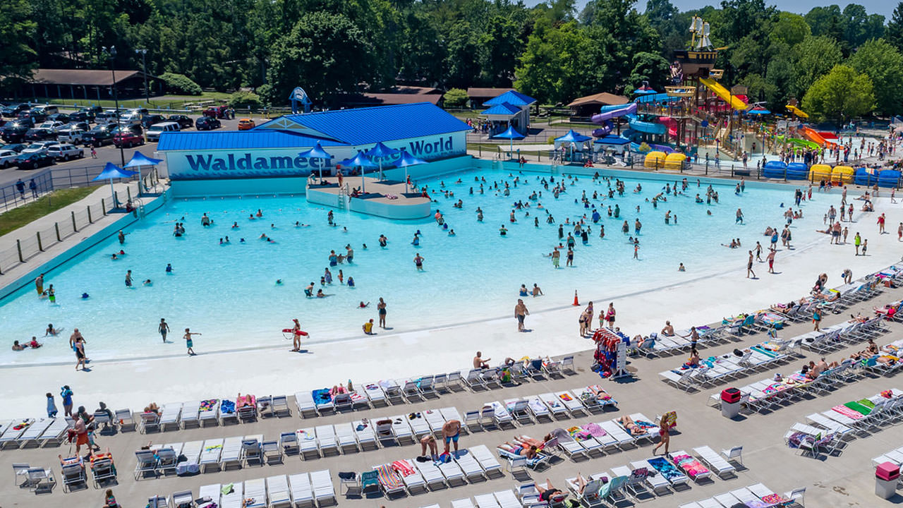 Wave Pool at Waldameer Water Park