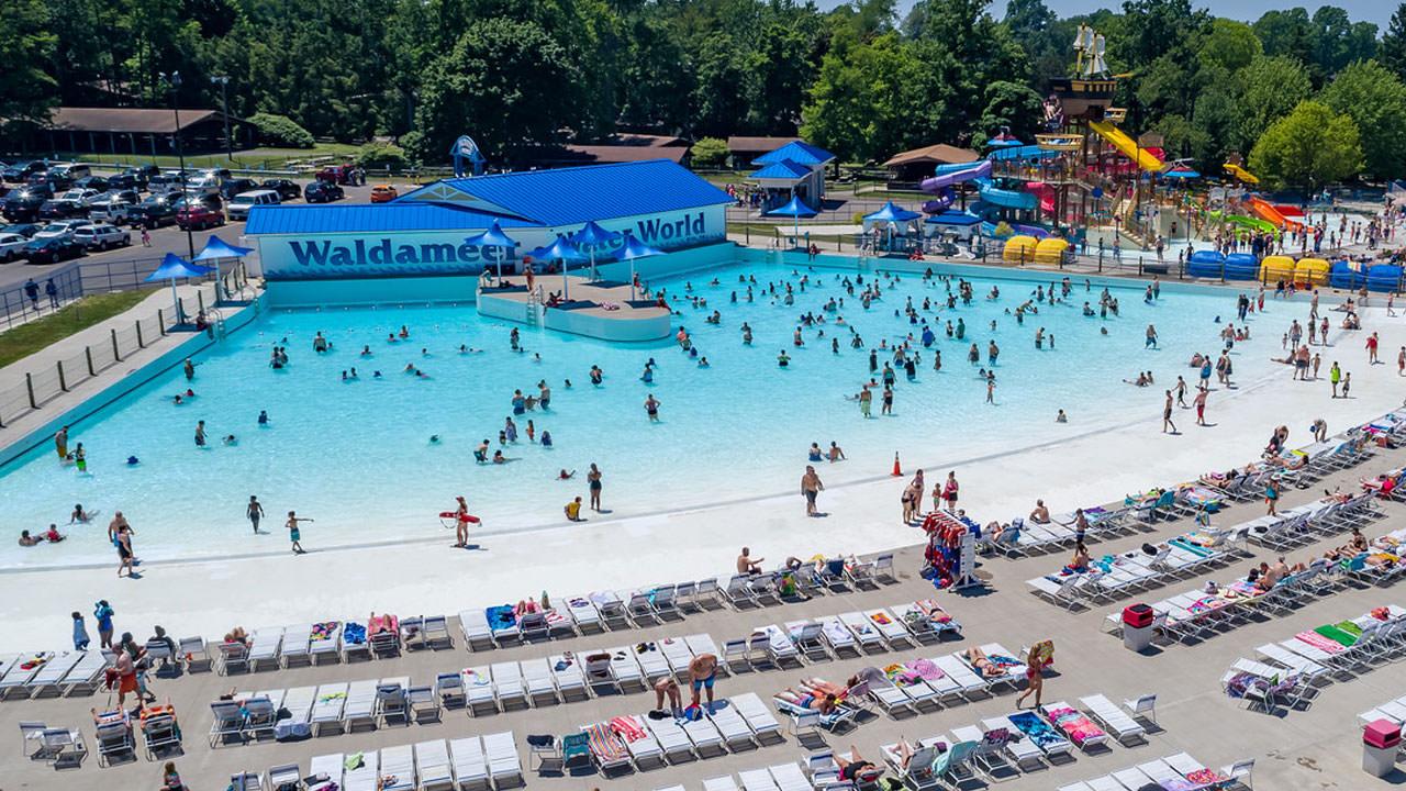 Wave Pool at Waldameer Water Park
