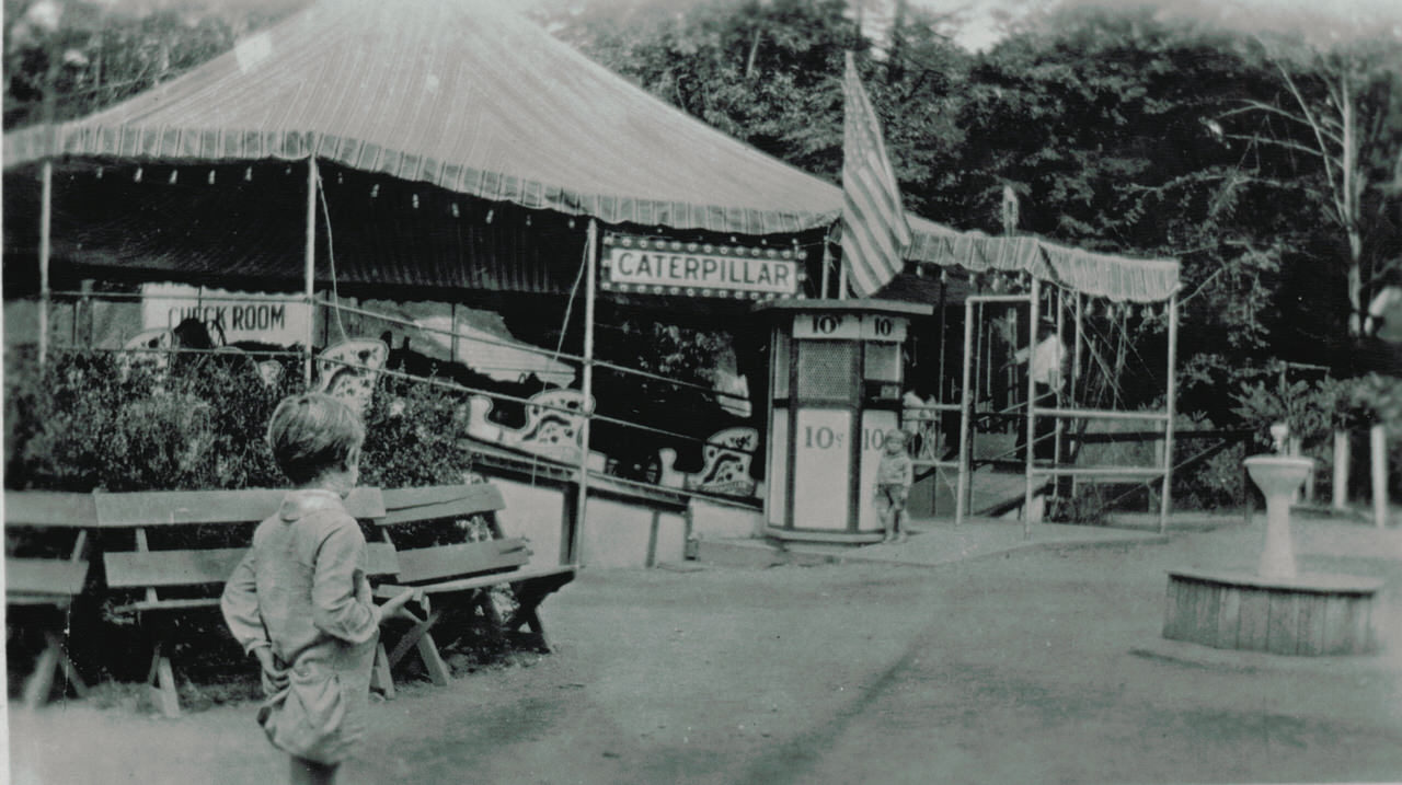 Caterpillar attraction in 1920s