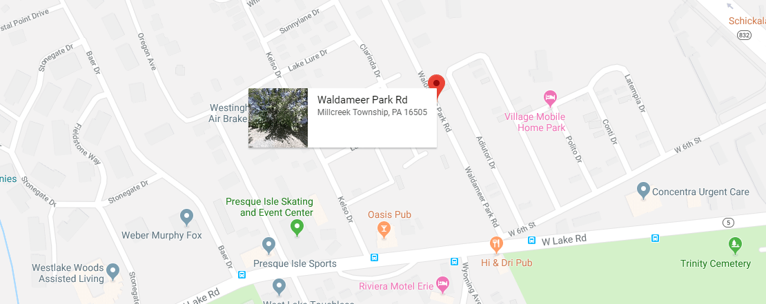 Map And Directions To Waldameer Park